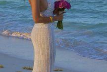 Vestido de novia a crochet / Vestido tejido por Hilda Cantú 2011