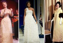 First Lady Dresses 75 years