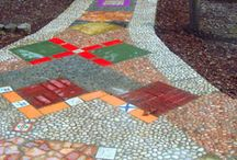 Great Garden Paths / Colorful, Creative and Inviting Garden Path Designs.