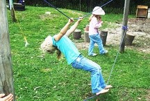 Risk-taking outdoor play