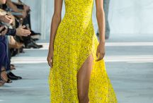 For the Love of Yellow / bright daring pieces in 50 shades of yellow