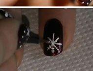Vánoční nehty