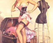 Hilda i pin up girls