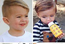 Baby haircut and fashion