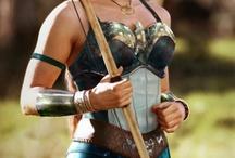 A-Fest Greece Costume / Artemis! Goddess of the hunt!