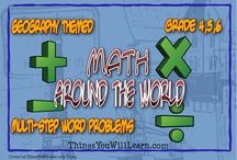 Math in Elementary School / Math resources and materials for grades 4, 5, and 6.