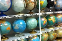 world globes / by Mary Talton