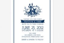 convites | invitation card / sobre a arte de convidar | about invitation