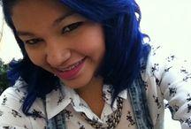 Quem curti cabelos coloridos / Visual impactante