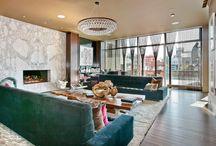 Interiores de lujo [] Luxury interiors. / Interiores llenos de glamour [] Full of glamour interiors