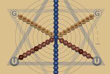 Die Pythagoreische Tetraktys / Diese Bilder und Animationen entstammen der Webseite http://tetraktys.de/