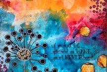 Kreatívos - Art journaling