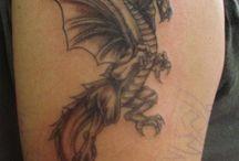 Tetování draka