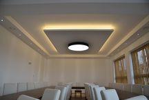 Social hall lighting