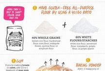Tips to bake gluten free