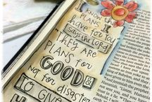 The Art of Bible Journaling / Worshippinng the Lord through art journaling. / by Deanna Patterson