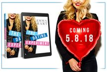 Cover Reveal for The Dating Experiment by Emma Hart