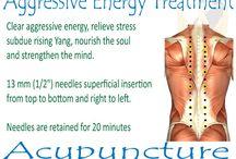 Akupunktur aggressiv energi