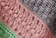 Crochet stitches.