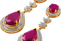 Diamond Earrings - Drops of sparkle! / Sunny Diamonds' stunning earrings collections.