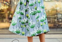 Botanical Prints Skirts