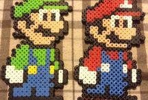 Hama Beads - Super Mario