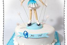 Ice skater cake
