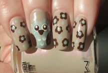 Nail Art by Peace Manor / Click on the photo to visit the matching blog post on my blog: Blue Skies for Me Please @ http://peacemanor.blogspot.com