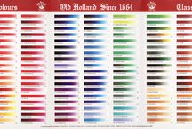 OLD HOLLAND OIL PAINT COLORS