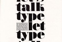 there's type on your face. / Pretty fonts to keep in mind.
