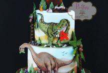 Dino Cake & Ideas
