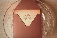 True Love / wedding invitation