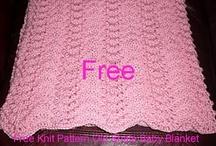 Free pattern baby blanket
