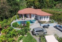 Spectacular Ocean and Mountain View House above Ojochal / http://www.dominicalrealty.com/property/?id=4287