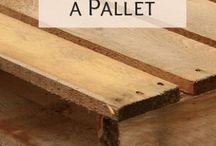 Pallet Projects / Creative ideas to build things with pallet wood.
