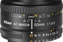 my camera equipment info / by Tanya Miner
