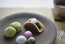 Japanese sweet Wagashi / 和菓子