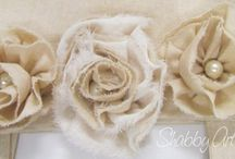 Fabric Flowers / by Tammy Brownlee