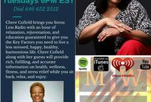 Stress Less Radio with Chere Cofield The Stress Manager