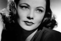 Gene Tierney / Gene Tierney's frame; the most amazing and beautiful actress of the industry