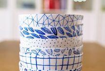 DIYs mit Porzellanfarben