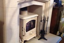 Fireplaces / As stonemasons one thing we specialise in is the design, manufacture and installation of stone fireplaces. From traditional Tudor inspired surrounds to more contemporary hole-in-the-wall fireplaces, and from hearths to chambers, we can transform your room. Take a look at some of our installations.