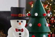 paper mache Christmas