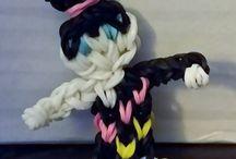 Dolls Rainbow loom
