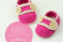 Free pattern crochet baby shoes slippers