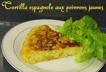 Entrées et Apéritifs / Tarte ou cake salé, Quiche, Crudité, salade, Verrine... Toutes nos recettes pour se mettre en appétit !