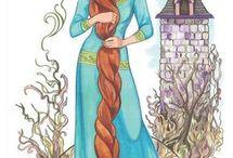 Вырезные принцы и принцессы