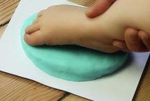 Goma para pé e mão do bebe