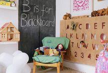 Tablica w pokoju dziecka / Tablica w pokoju dziecięcym