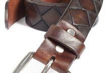 Hide Mark leather belt( made to order)